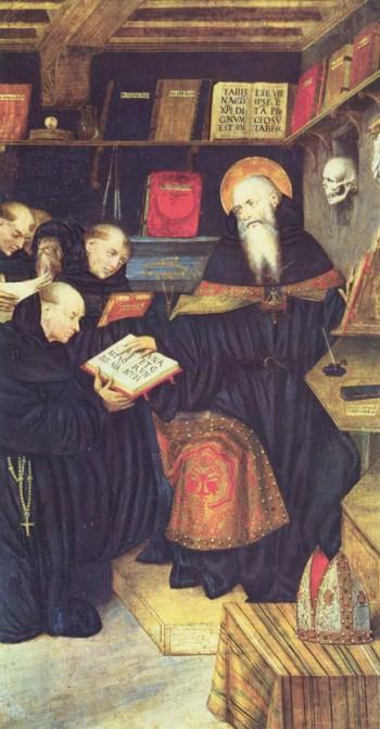 Gaudenzio Ferrari: Der heilige Augustin und die Einsiedler (um 1530/1540)