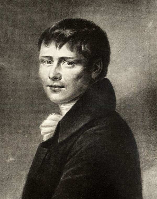 Heinrich von Kleist, Portrait 1802